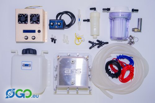 Waterstof componenten